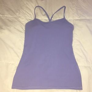 Lululemon workout tank size 6 excellent used cond